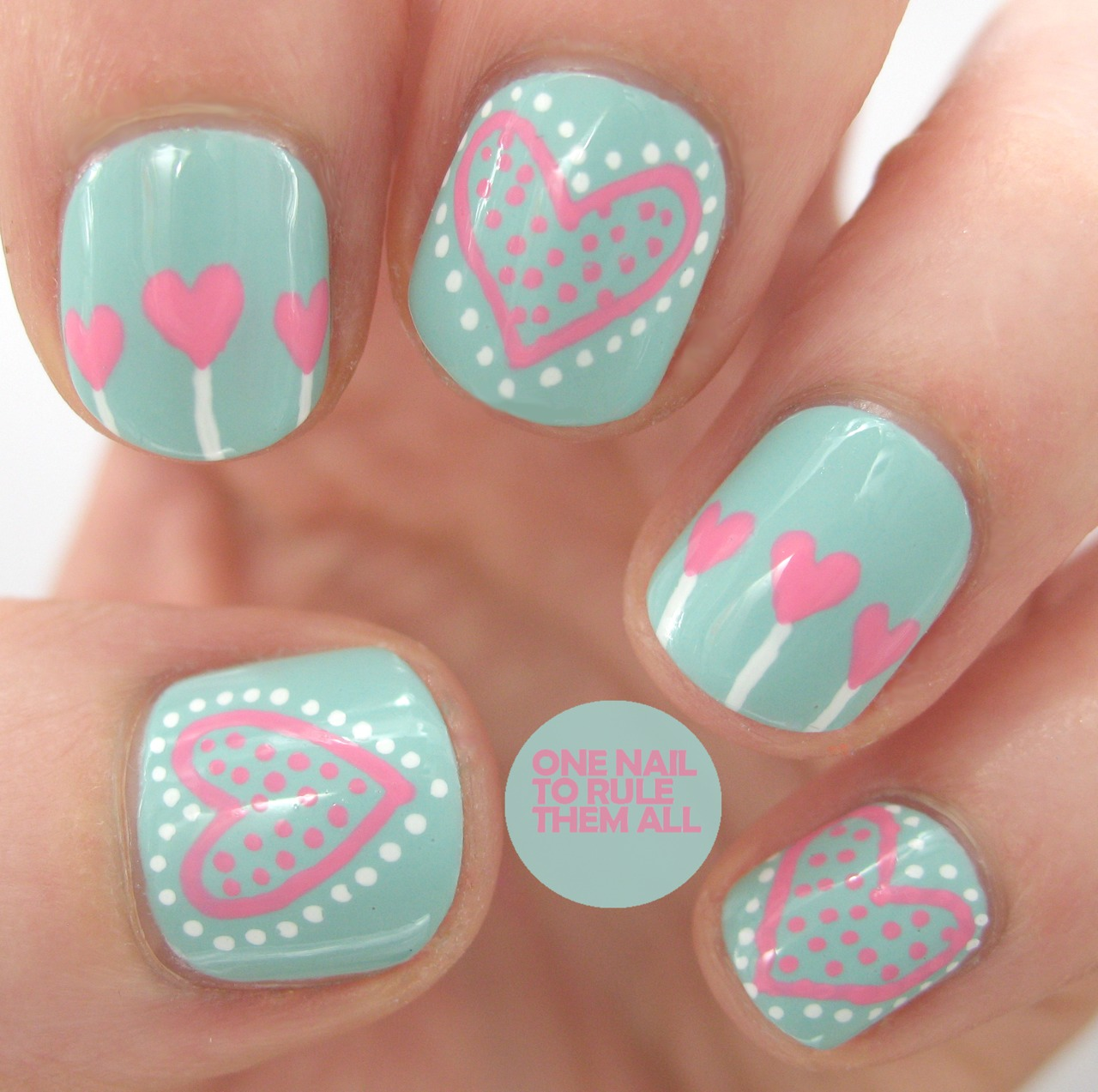 Adorable Nail Art: Unghie Romantiche