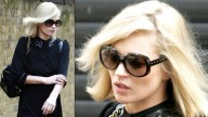 Il biondo platino di Kate Moss