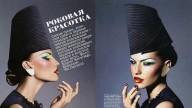 Colorful make up su Vogue Russia: il trucco delle feste è ipercolorato
