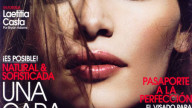 Il make up dell'estate: Laetitia casta su Vogue Beauty Spagna