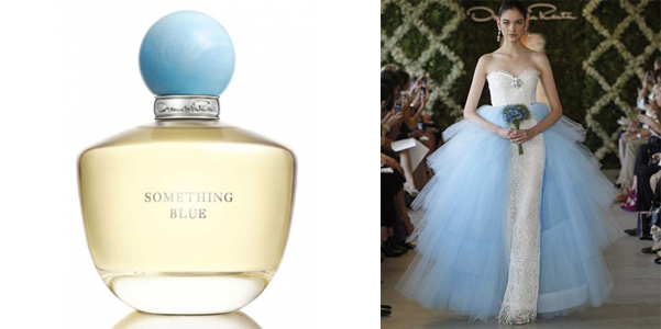 9 Bold Wedding Nail Polish Sha together with Thing moreover Our 10 Favorite Wedding Beauty moreover Oscar De La Renta Terzo Profumo Something Blue furthermore Something Blue Oscar De La Renta. on oscar de la renta something blue larimar