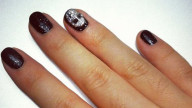 Halloween 2013: nail art teschio 3D