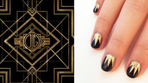 Nail art Great Gatsby