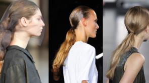 Tendenze capelli pe 2015: coda bassa
