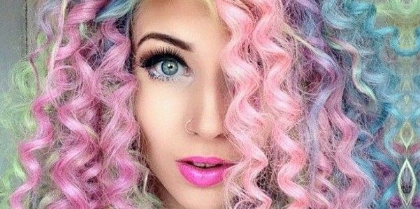 tendenza unicorn hair