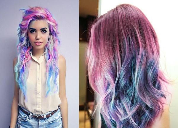 unicorn hair capelli colorati