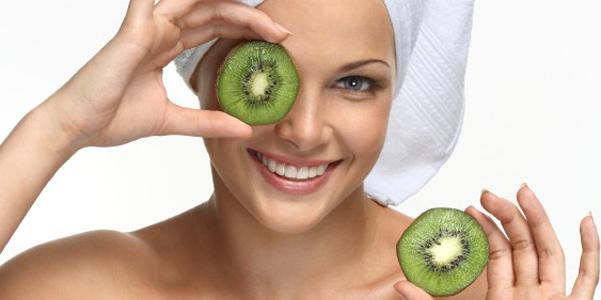 fai da te maschera viso al kiwi