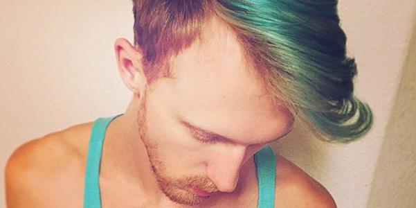 Rainbow hair uomini