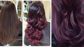 Cherry bombré, la tendenza capelli per l'inverno 2016