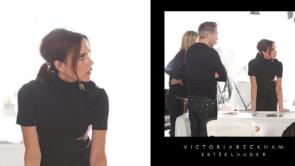 Victoria Beckham con Estee Lauder, la linea beauty
