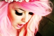 romantic-hot-pink-ombre-dip-dye-hair-chalk-f35689