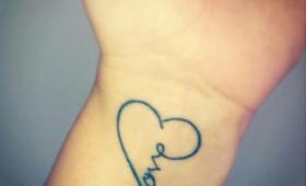 Tatuaggi di parole
