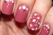 nail-art-floreale-semplice