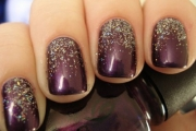 purple-sparkle-nails