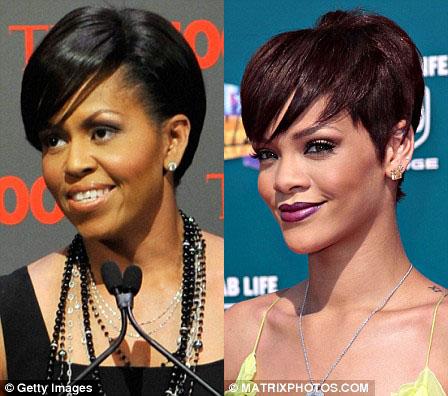 Michelle Obama Rihanna