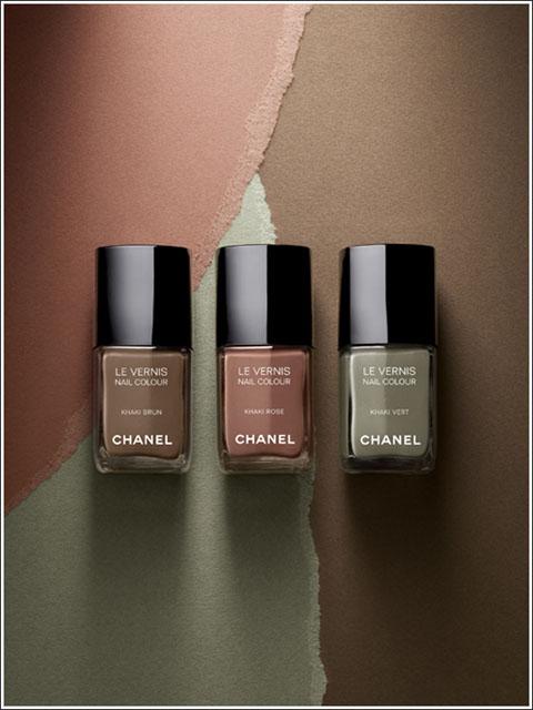 Chanel Khaki collection
