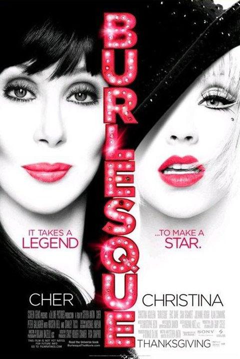Christina Aguilera Cher Burlesque