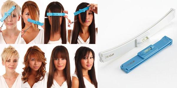 Attrezzo per tagliare i capelli da sola