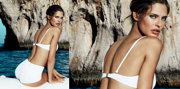 Bianca Balti Light Blue