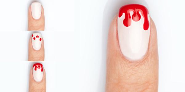 nail art Halloween 2013