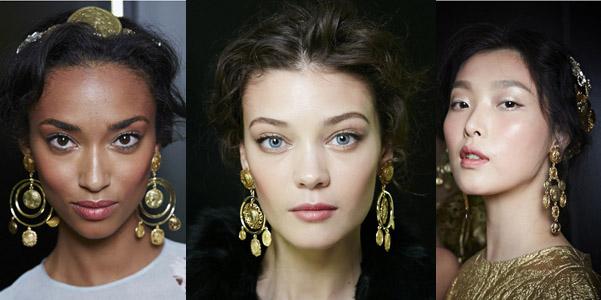 trucco Dolce Gabbana pe 2014