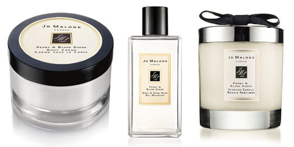 Jo Malone Peony Blush Suede collection