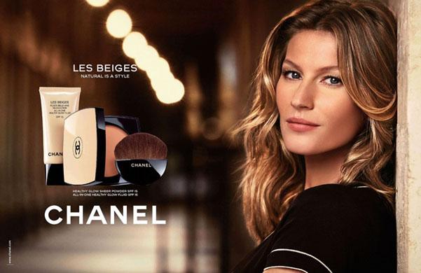 Gisele Bundchen Chanel Les Beiges
