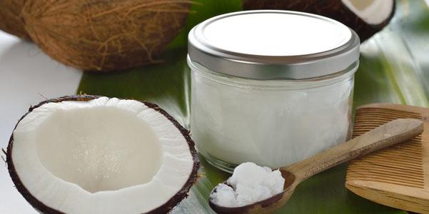 usi olio di cocco