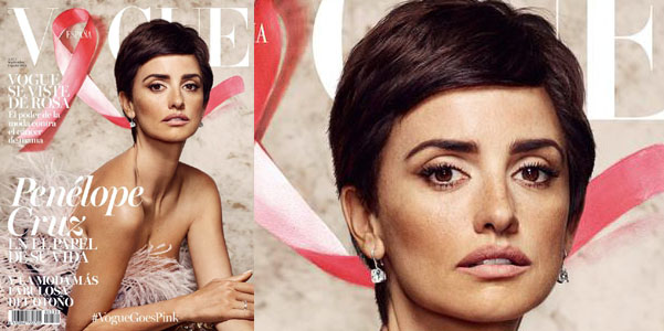 penelope cruz capelli corti vogue