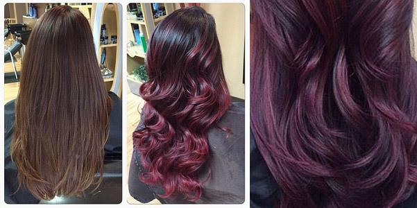 cherry bombré tendenza capelli inverno 2016 34b80d114038