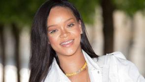 Trend alert: l'eyeliner bianco di Rihanna
