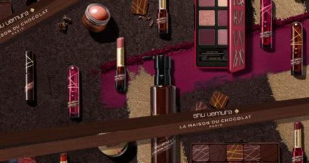Shu Uemura e La Maison du Chocolat, la capsule collection