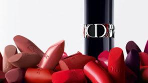 La nuova collezione di rossetti Rouge Dior