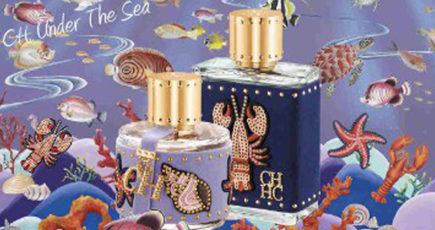 CH Under the Sea, il nuovo profumo di Carolina Herrera ti porta in fondo al mar